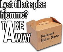 Lyst til at spise hjemme? Take away